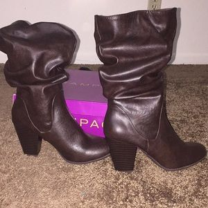 Brown Heeled boot
